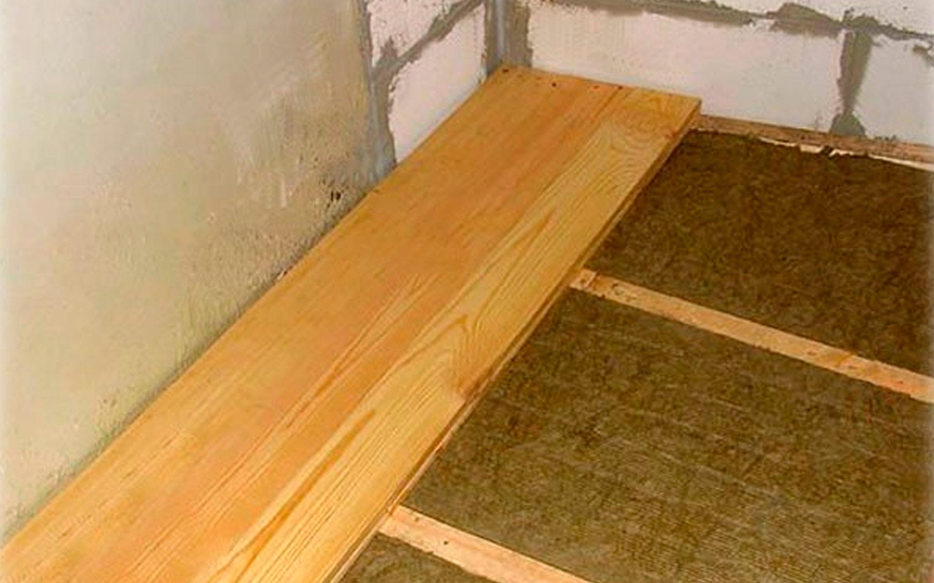 Деревяна підлога своїми руками або як правильно зробити дере.