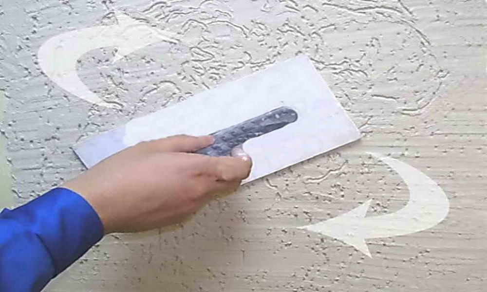 Как сделать декоративную фасадную штукатурку